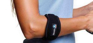 بریس برای درمان آرنج تنیس بازان