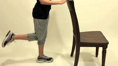 تمرینات عضله همسترینگ(پشت پا)