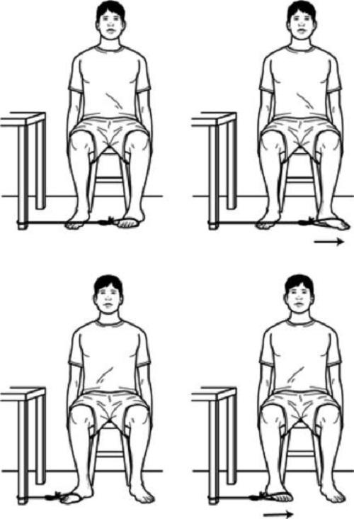 تمرین تقویت قسمت خارجی ساق پا