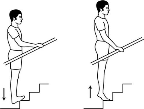 تمرین تقویت ماهیچهی ساق پا