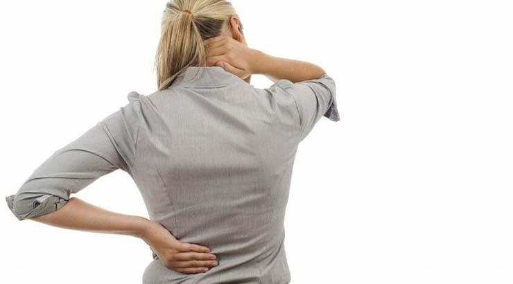 درمان خانگی کمردرد و گردن درد
