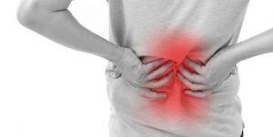 درمان کمردرد بعلت بیرون زدگی دیسک با فیزیوتراپی، اوزون و لیزر