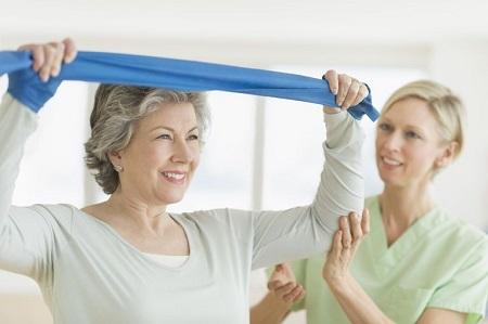 ورزش درمانی با فیزیوتراپی برای تقویت عضلات روتاتور کاف